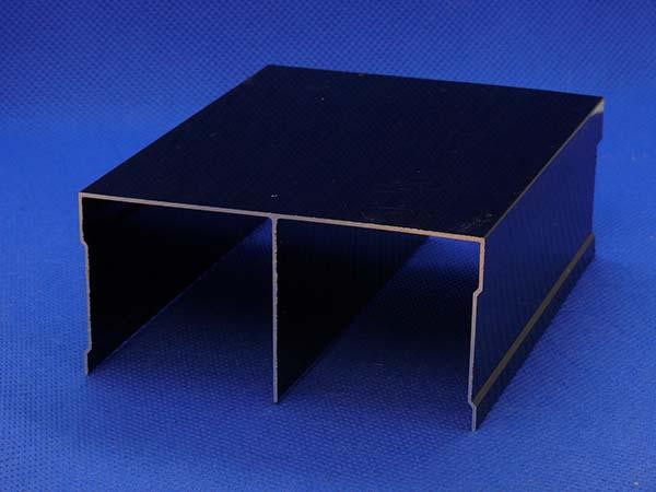 Направляющая верхняя двойная 104 / D венге G