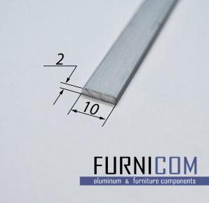 Полоса алюминиевая 10х2 / AS
