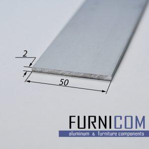 Полоса алюминиевая 50х2 / AS