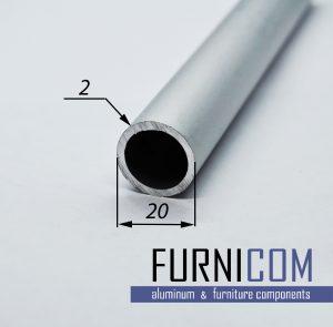 Труба алюминиевая круглая 20х2 / AS