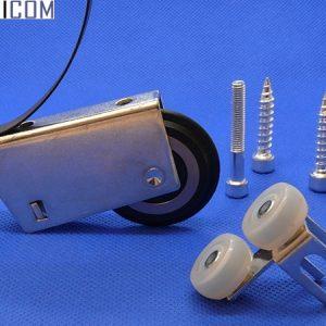 Комплект роликов №15 C асс. (подшипник+силикон+ шайба/закрытый)