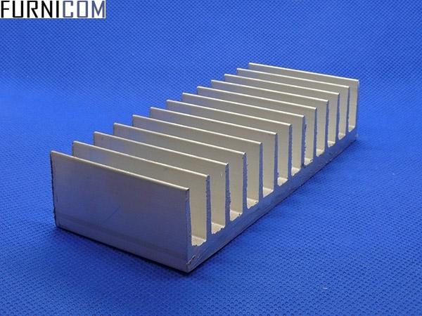 Радиаторный профиль алюминиевый 122х26 / б.п.