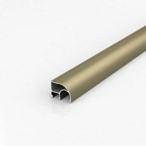 Алюминиевый профиль для шкафов-купе (Шампань)