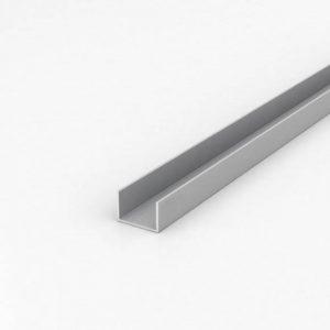 Швеллер (П-Образный) алюминиевый