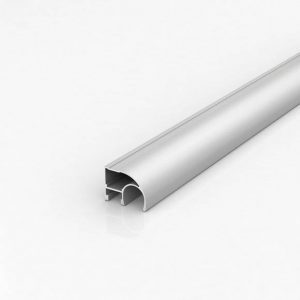 Алюминиевый профиль для шкафов-купе (Серебро)