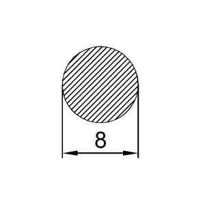 Пруток алюминиевый d8 / AS