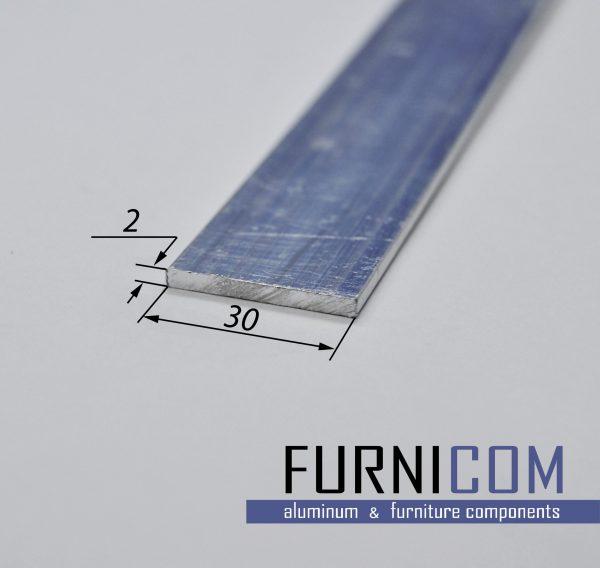 Полоса алюминиевая 30х2 / б.п.