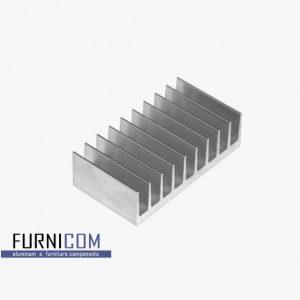 Радиаторный алюминиевый профиль 94х33 / б.п.