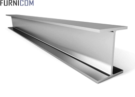 Алюминиевый Н-образный профиль