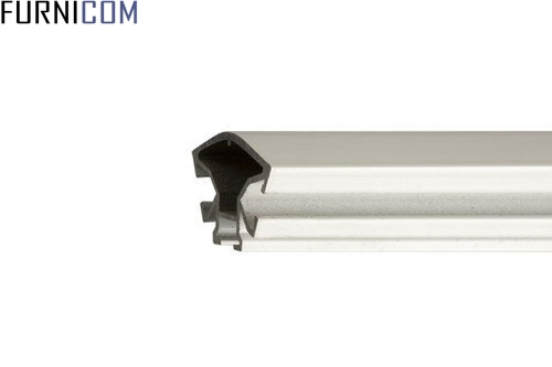 Комплектующие и торговый профиль из алюминия