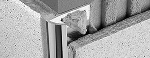 Уголок для плитки алюминиевый