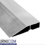 Правило трапециевидное алюминиевое 91мм / б.п.