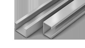 С-профиль алюминиевый