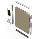 Профиль дверного полотна торцевой П-образный алюминиевый / AS 3 м.