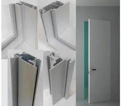 Алюминиевая коробка для дверей скрытого монтажа