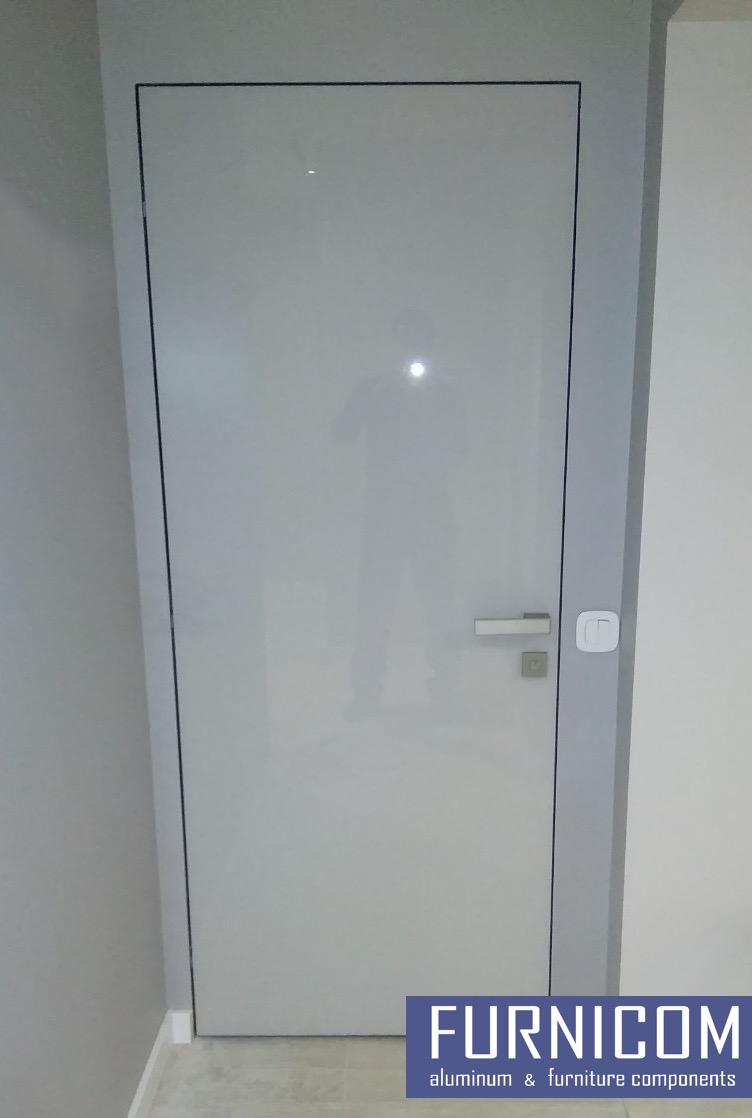 Профиль полотна двери под стекло
