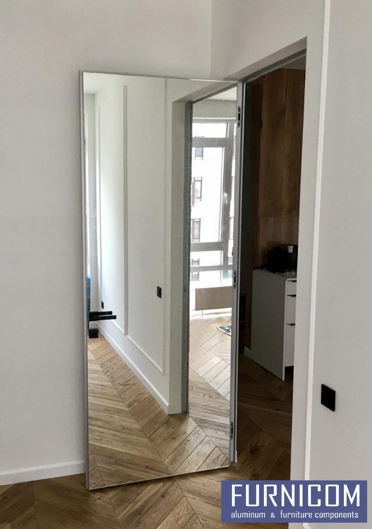 Профиль полотна двери алюминиевый