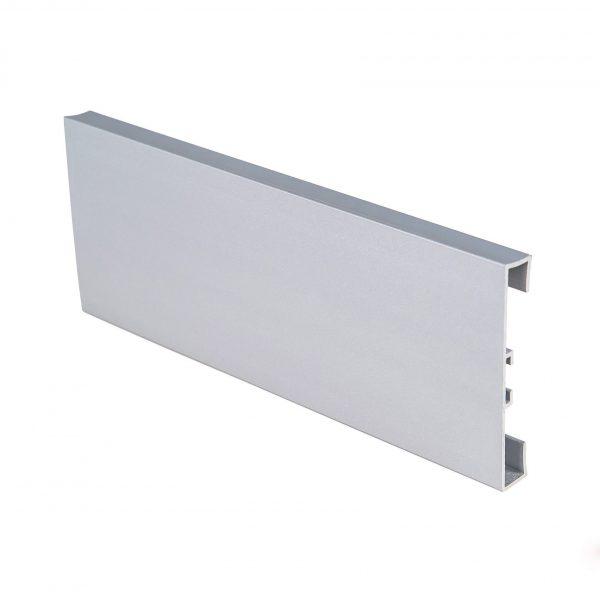 Алюминиевый накладной прямоугольный 60 мм планка / б.п.