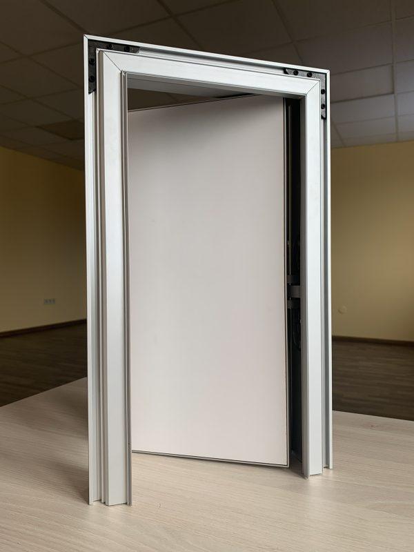 Комплект коробка двери скрытого монтажа + Фрезеровка под петли